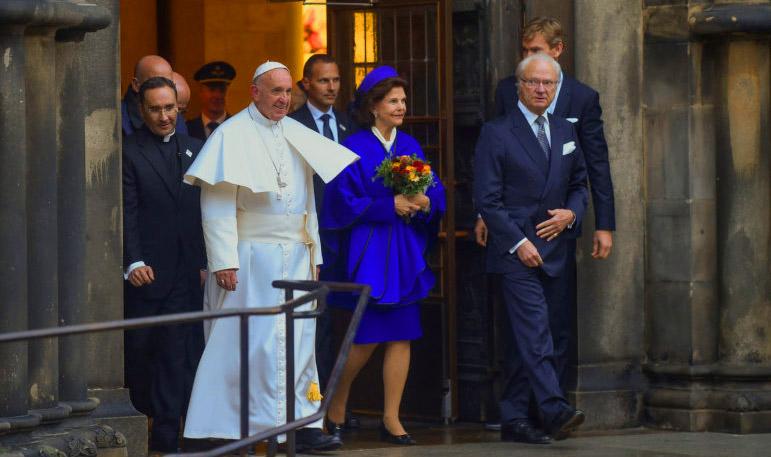 påven till lund